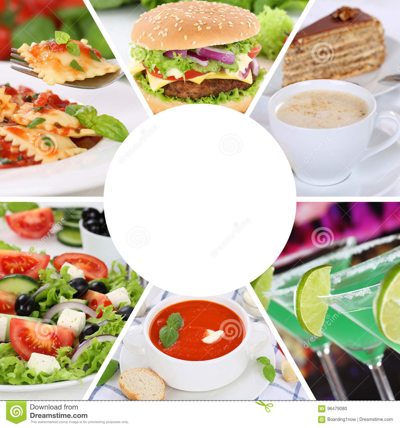 Food and drink menu collection collage eat eating drinks meal me