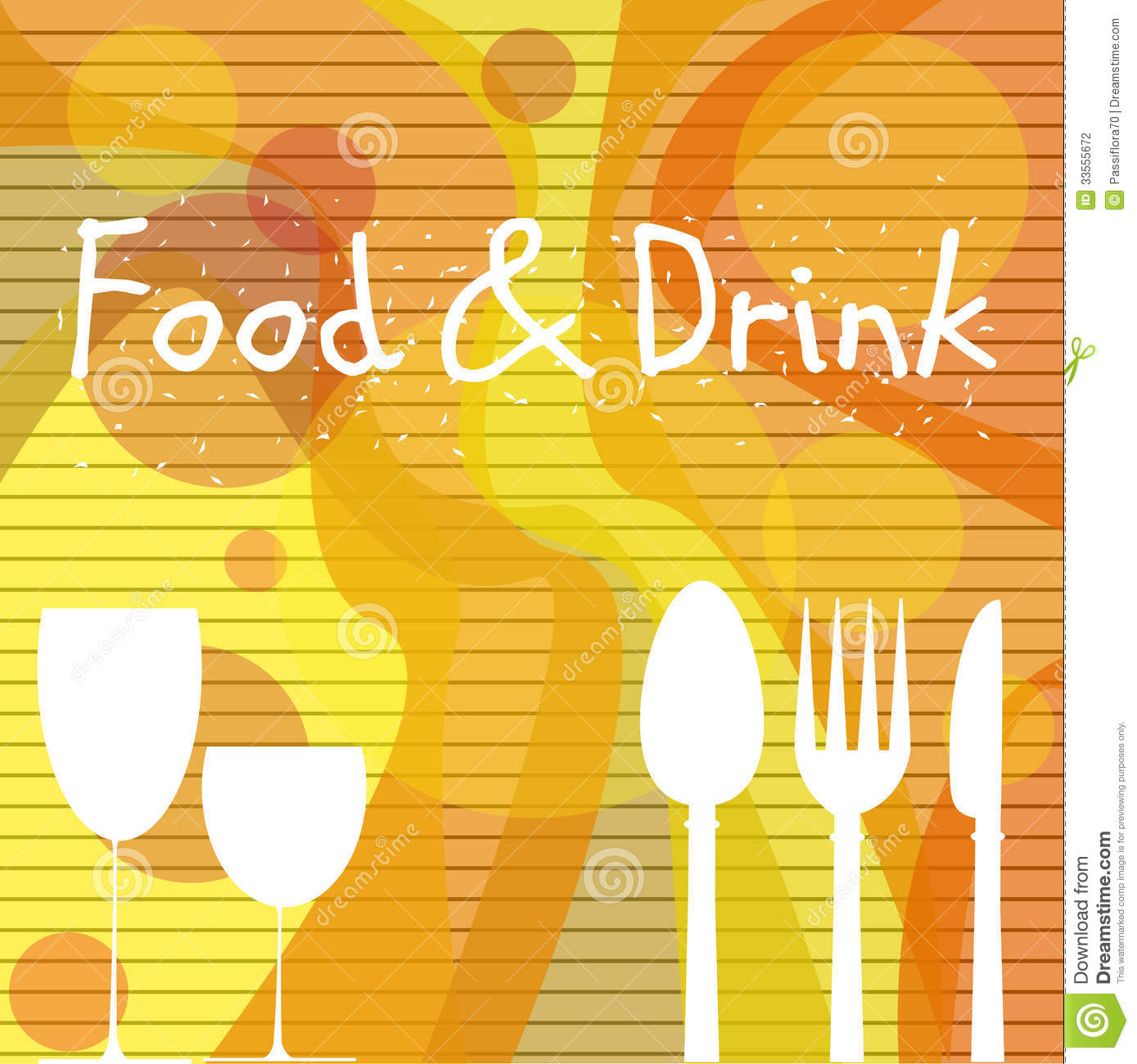 food drink symbols catering poster suited preview
