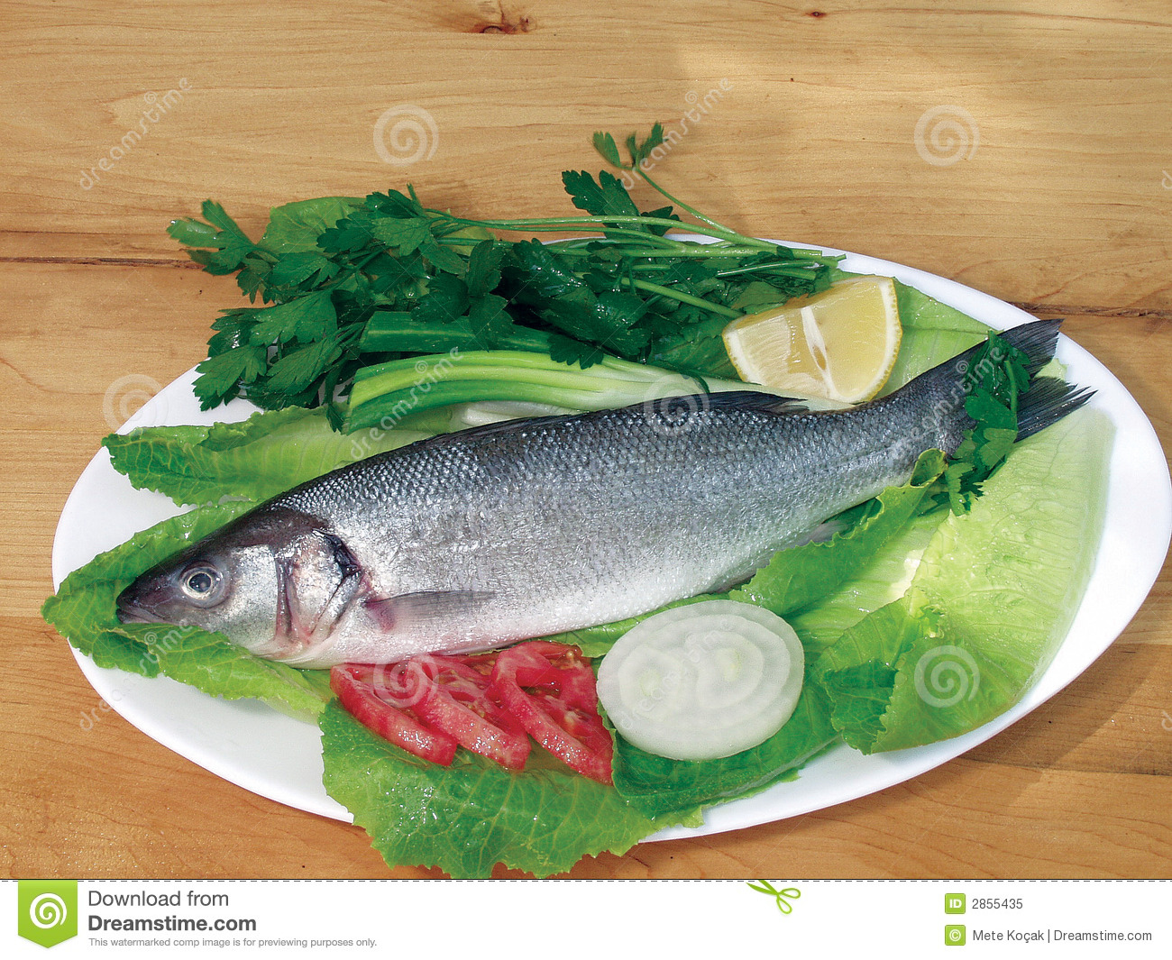 Royalty free stock photo food fish sea bass image 2855435 for Bass fish cooking