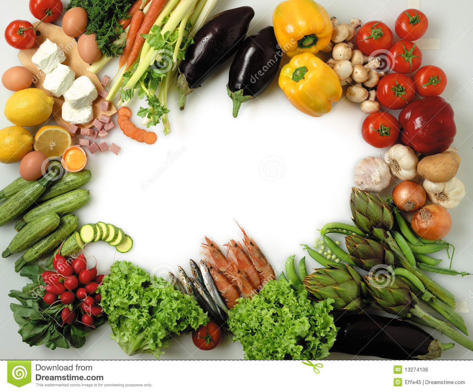 Food Frame Royalty Free Stock Image - Image: 13274106