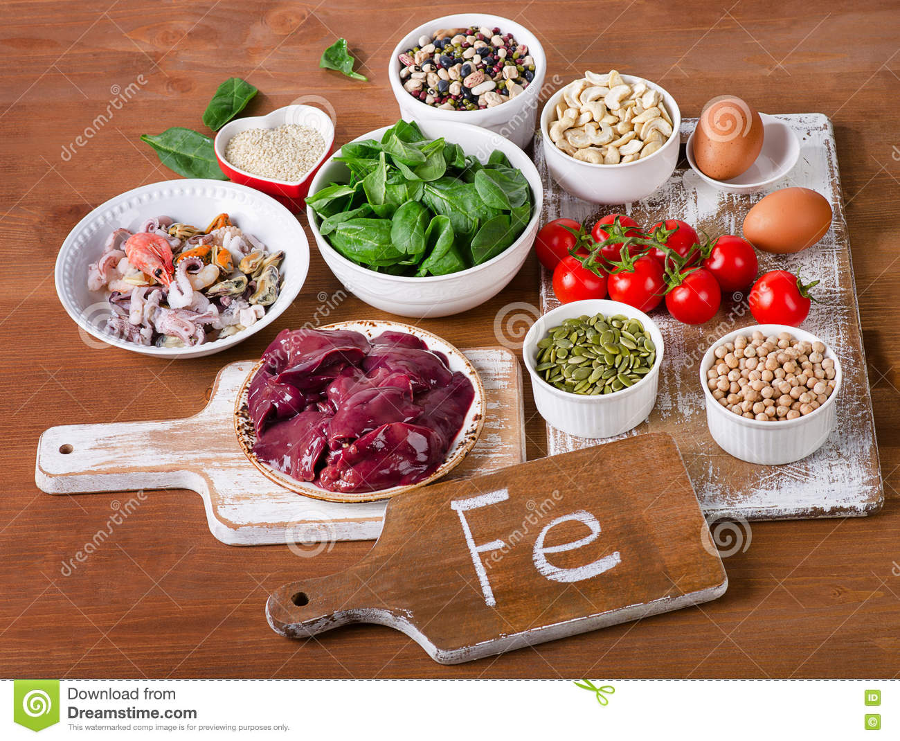 Food high in iron stock image image of green ingredient 70222043 download comp forumfinder Image collections
