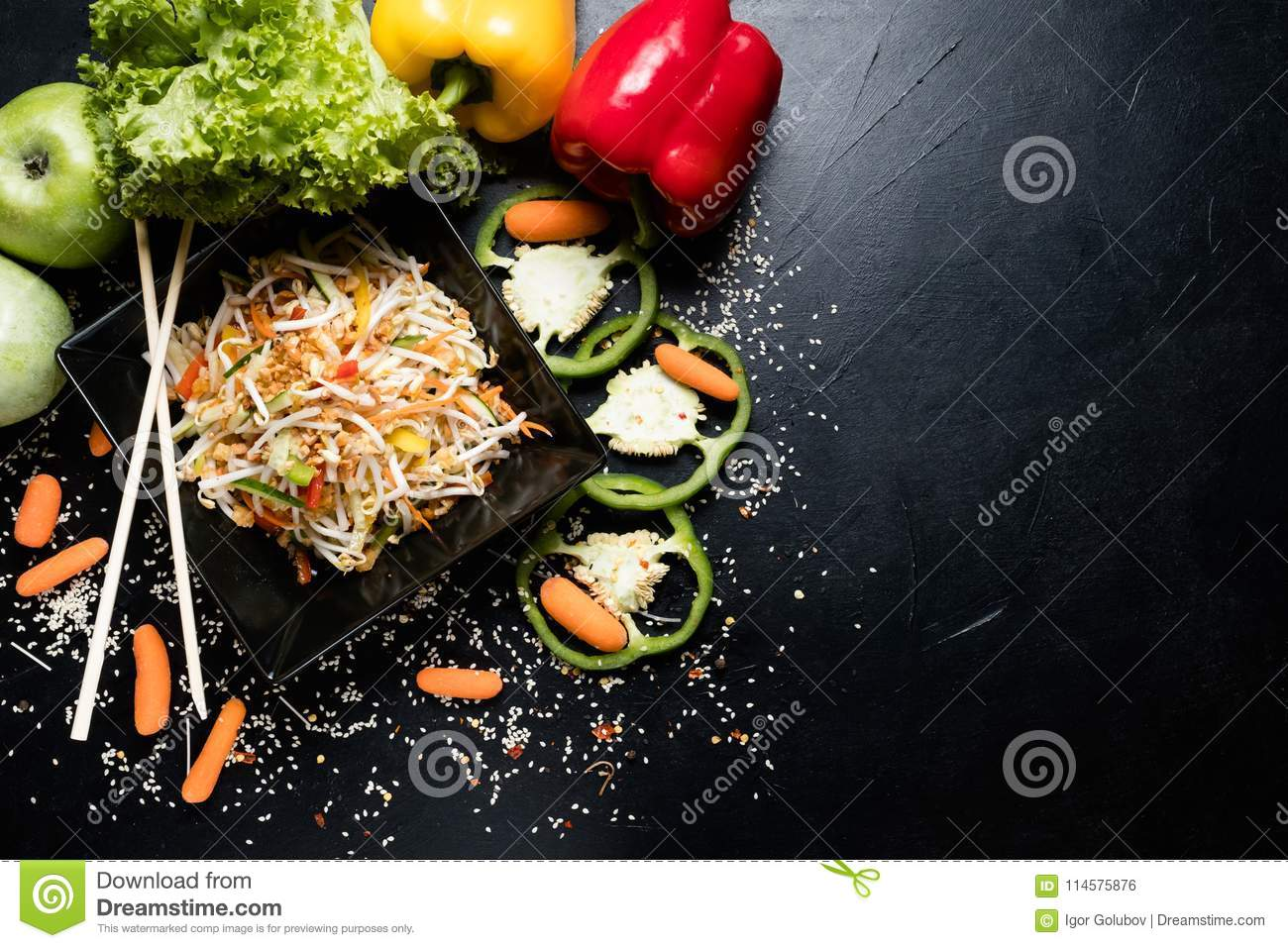 Recipe meal vietnamese cuisine wheat sprout veggie stock photo download comp forumfinder Images