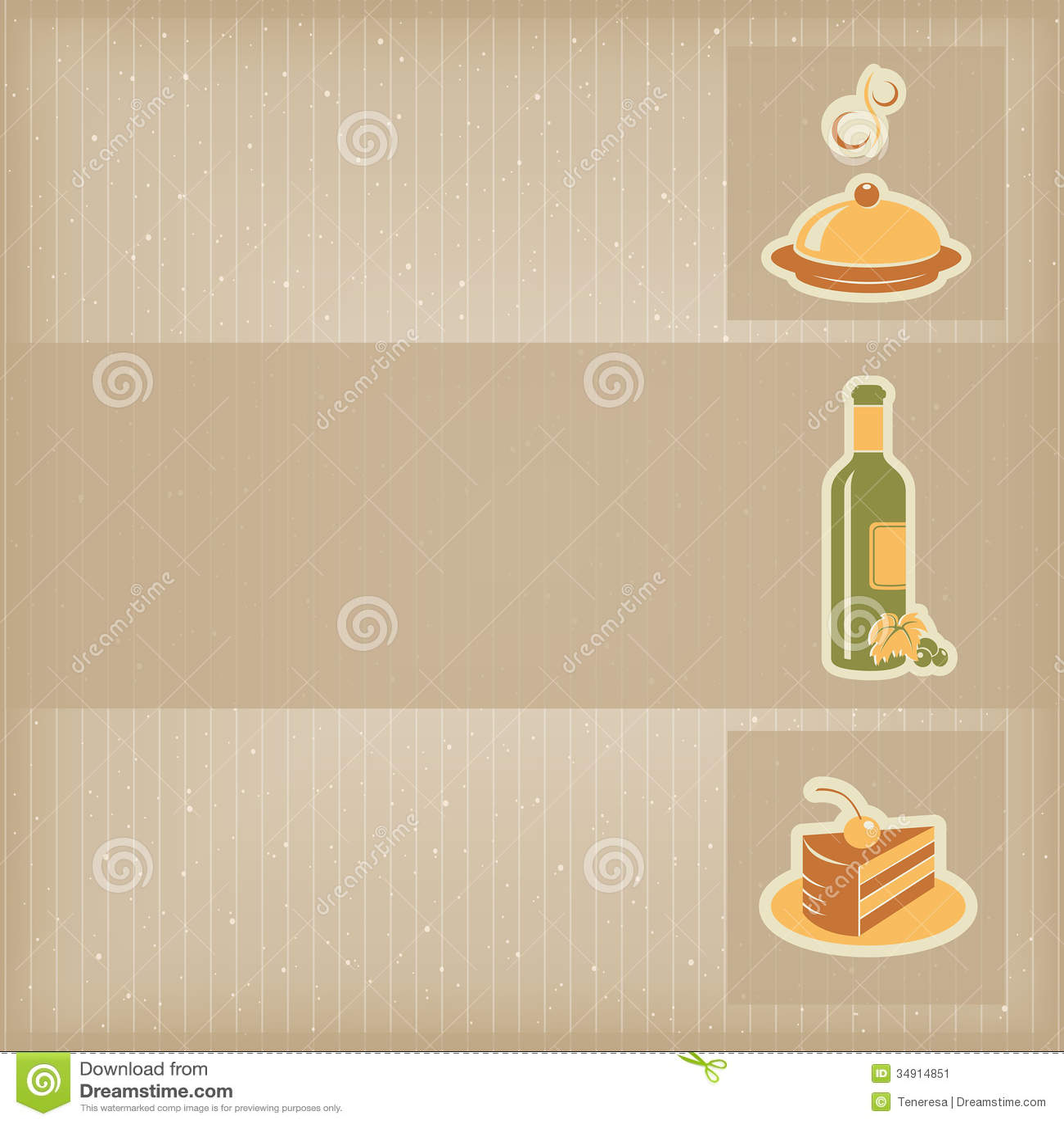 Food Menu Template Image Image 34914851 – Food Menu Template