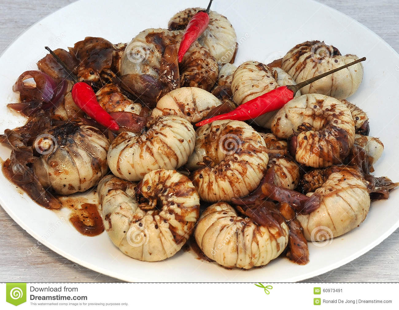 Food from the philippines adobong buk an sang lubi uok coconut royalty free stock photo forumfinder Images