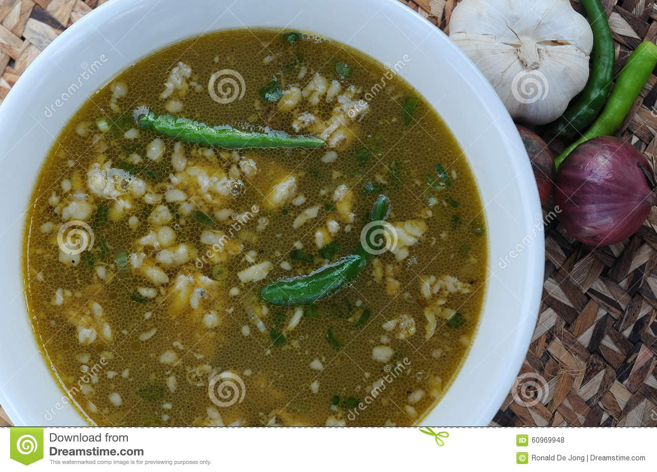 Food From The Philippines Papaitan Beef Innards Soup Dish Stock Photo Image Of Asian Roasted 60969948