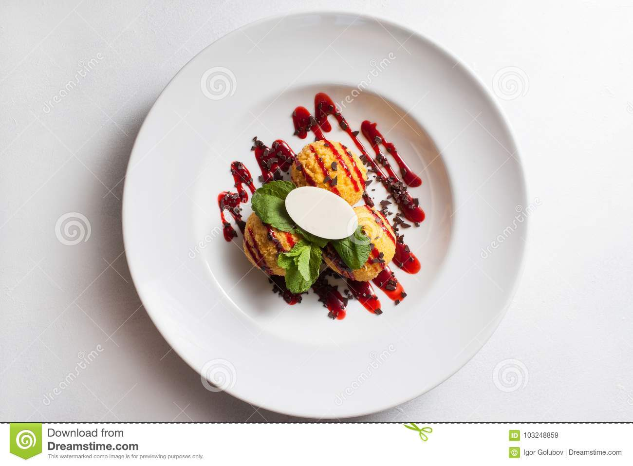 Food Photo Restaurant Meal Dessert Recipe Concept Stock Image Image Of Served Dining 103248859