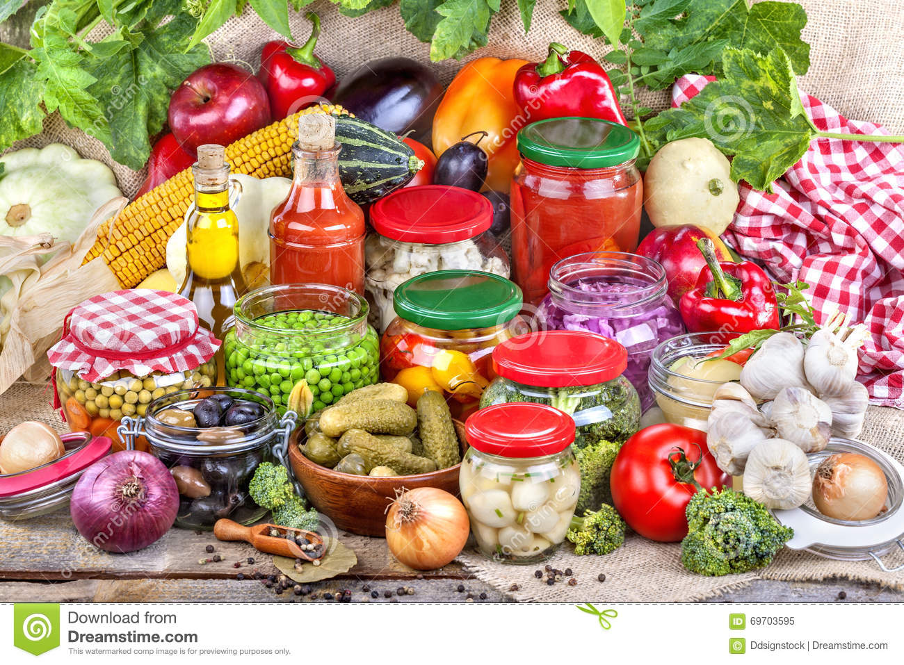 Autumn Food Preservation Royalty-Free Stock Photo ...
