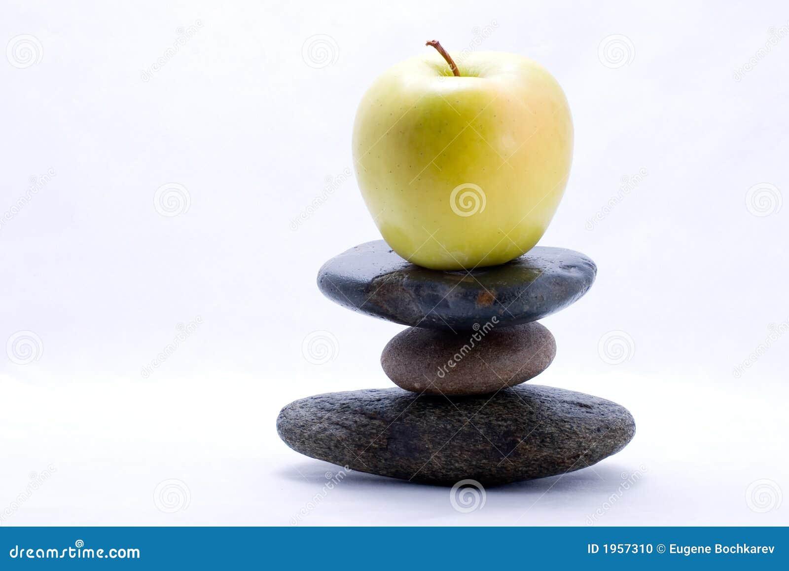 Food pyramid - apple