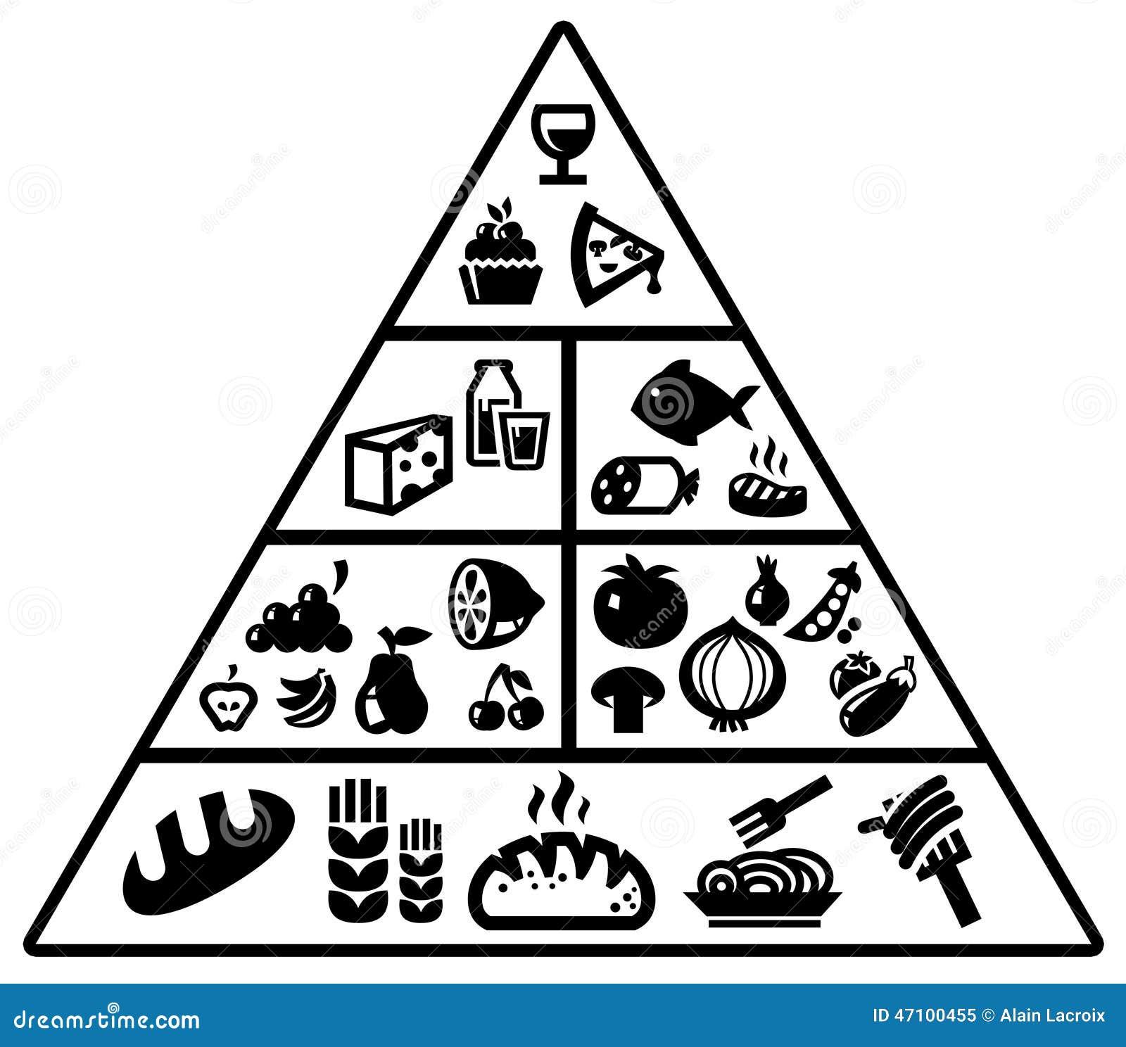 Food pyramid stock illustration illustration of cake 47100455 food pyramid buycottarizona Gallery