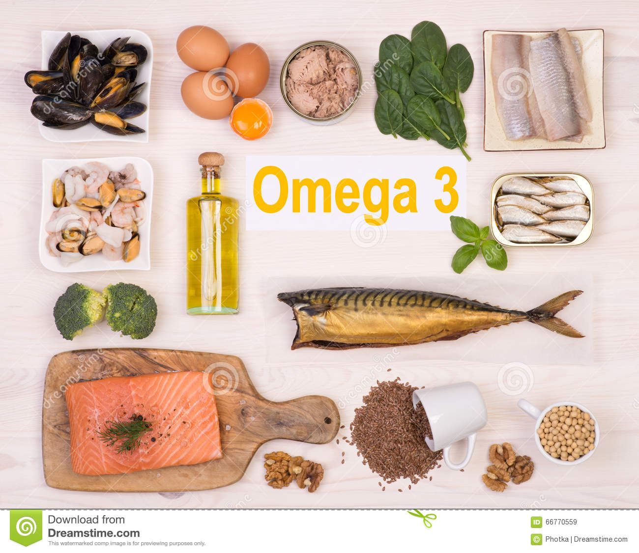 Food rich in omega 3 fatty acid stock image image of for Fish rich in omega 3