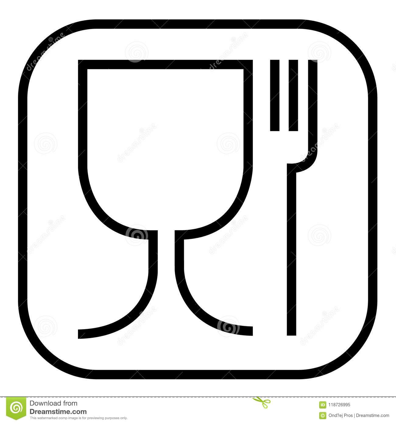 Food Safe Symbol The International Icon For Food Safe Material Are