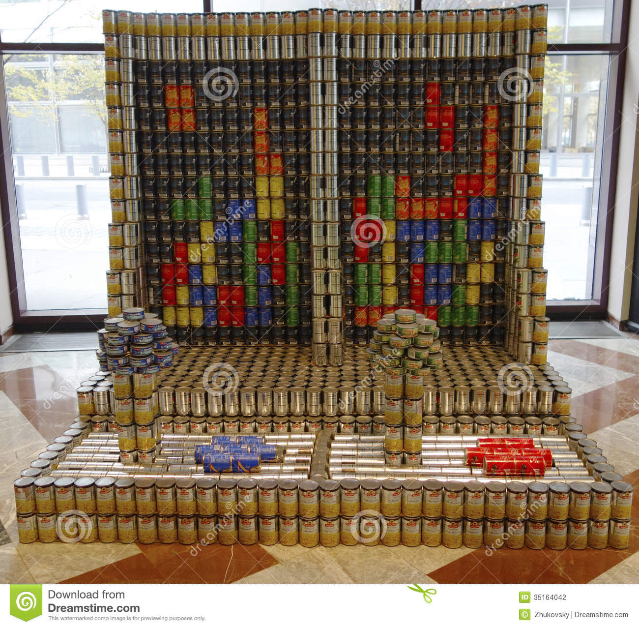 Canstruction   Things to do in New York  Canstruction 2013 New York