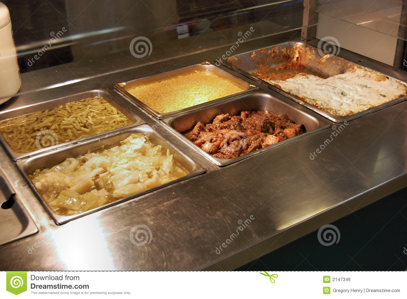 Food Service Table Royalty Free Stock Image Image 2147346