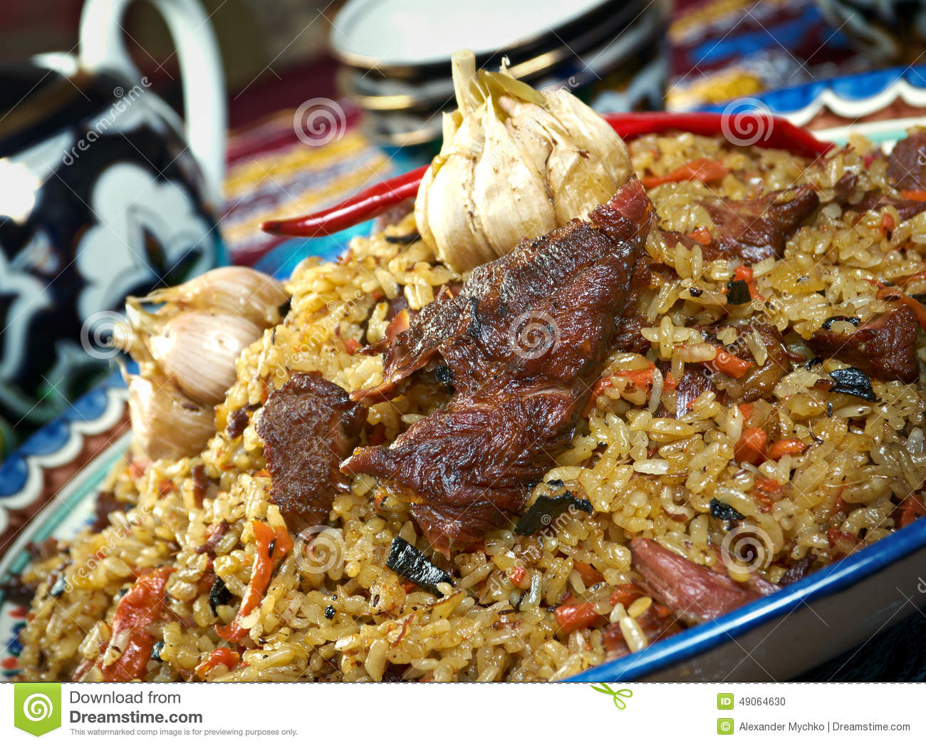Food set central asian cuisine stock photo image 49064630 for Asia asian cuisine