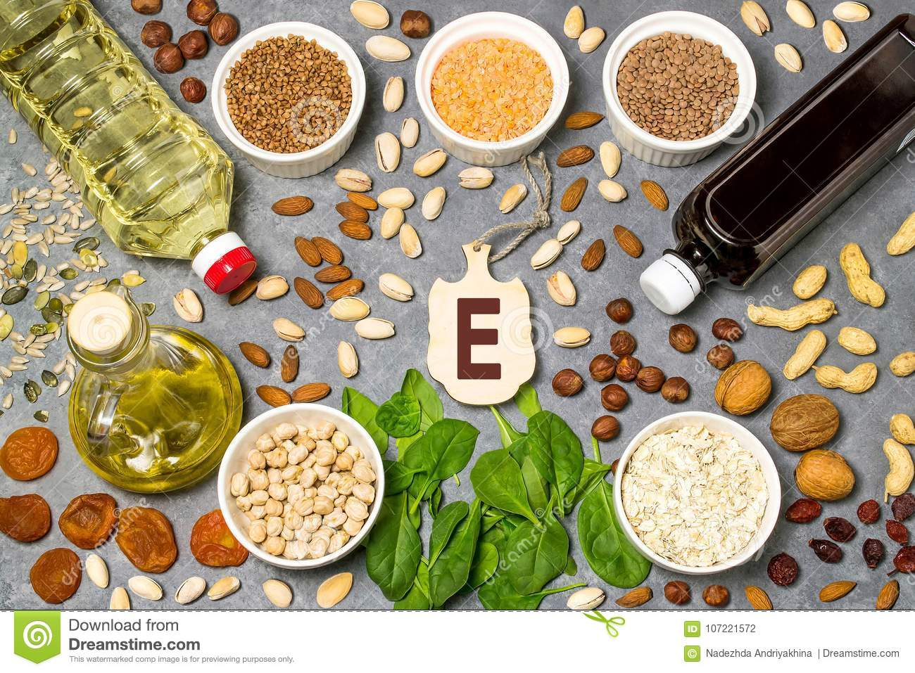 Food is source of vitamin E