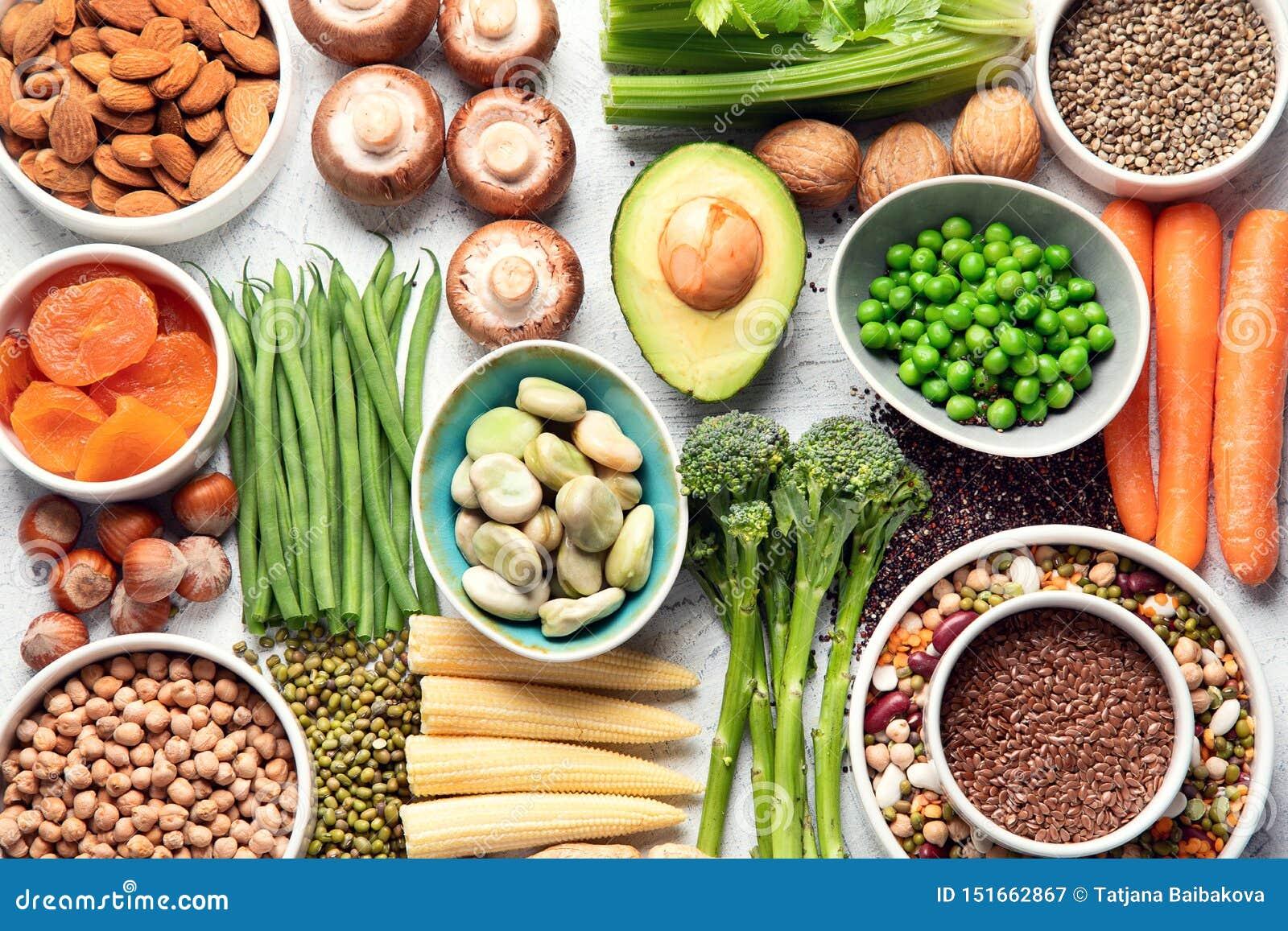 fruit nuts legumes vegetables protein diet