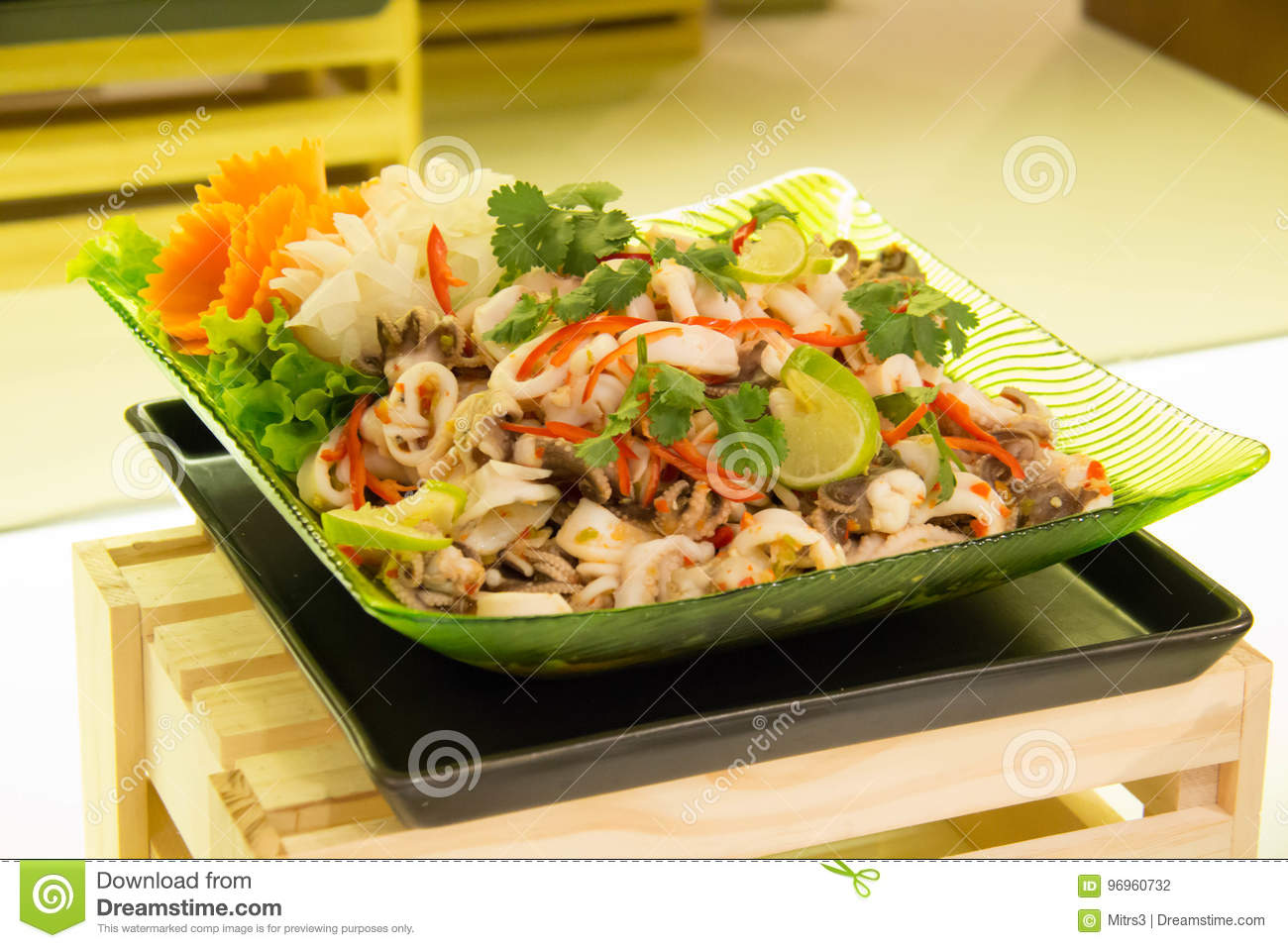 Squid Salad. A collection of delicious and simple recipes 90