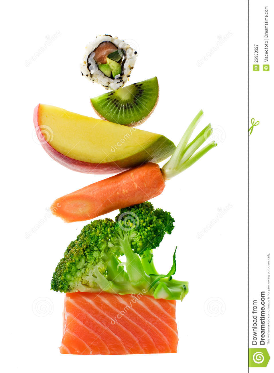 Food Stack Royalty Free Stock Photography Image 26333327
