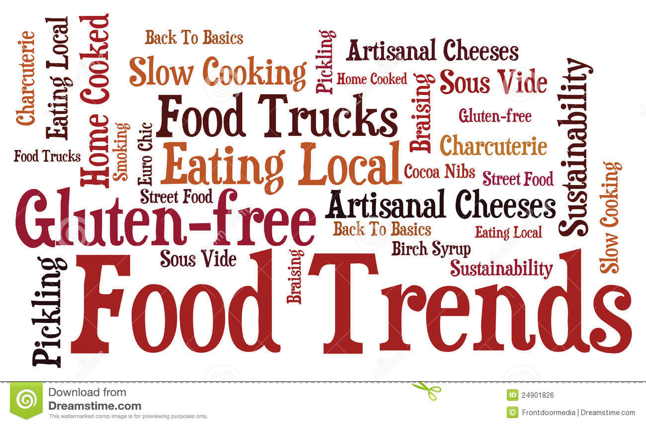 Food Trends Royalty Free Stock Image - Image: 24901826
