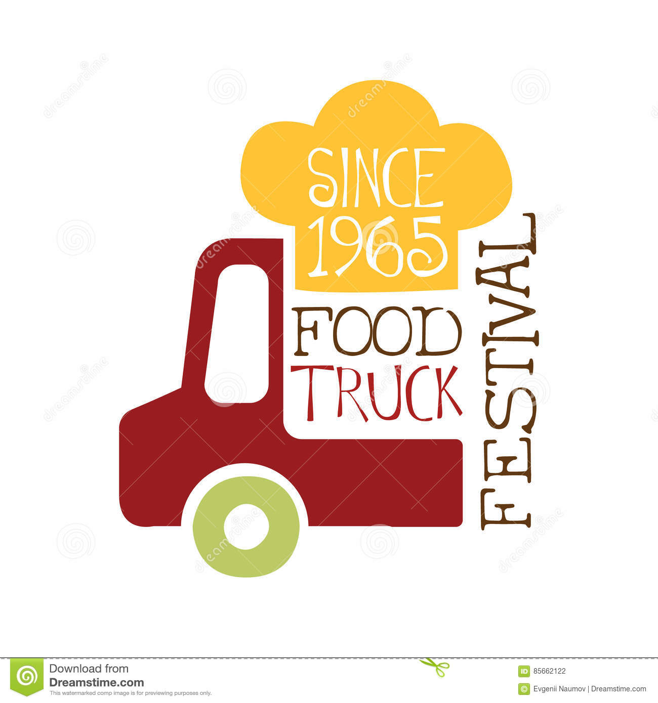 Food Truck Vehicle Template