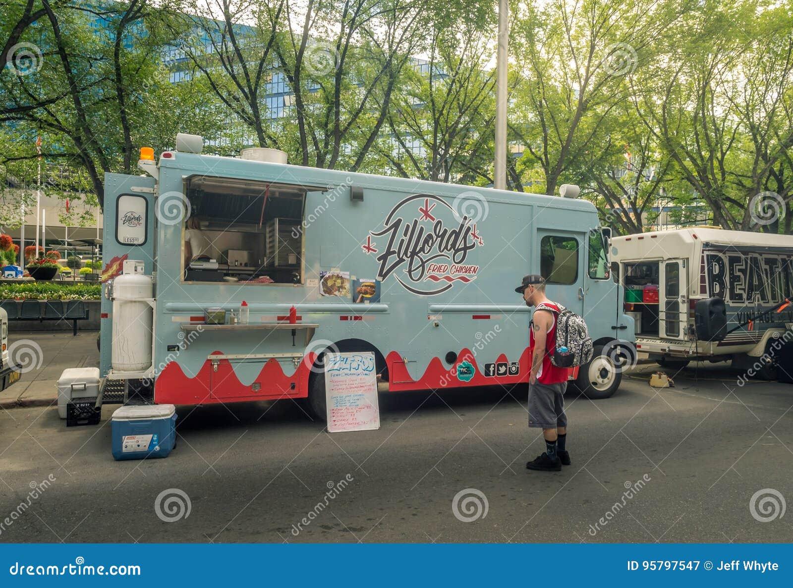 Food Truck In Calgary, Alberta Editorial Photography - Image of food ...
