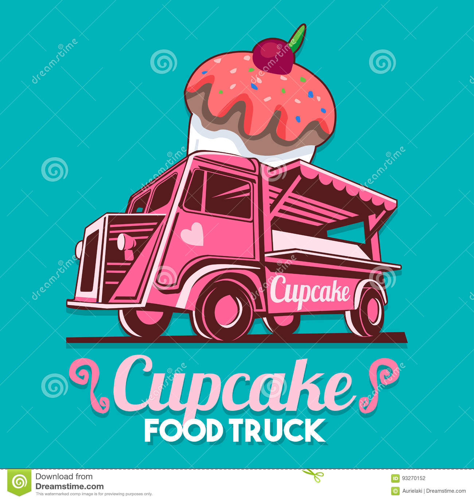 Food Truck Cake Stock Illustrations 382 Food Truck Cake Stock Illustrations Vectors Clipart Dreamstime