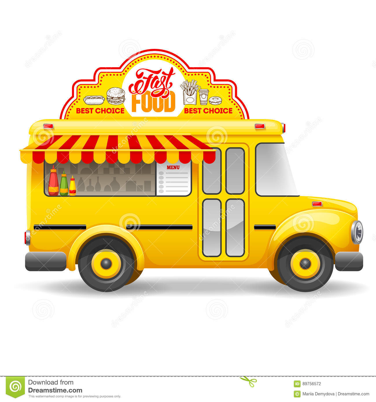 Food Truck Royalty Free Vector
