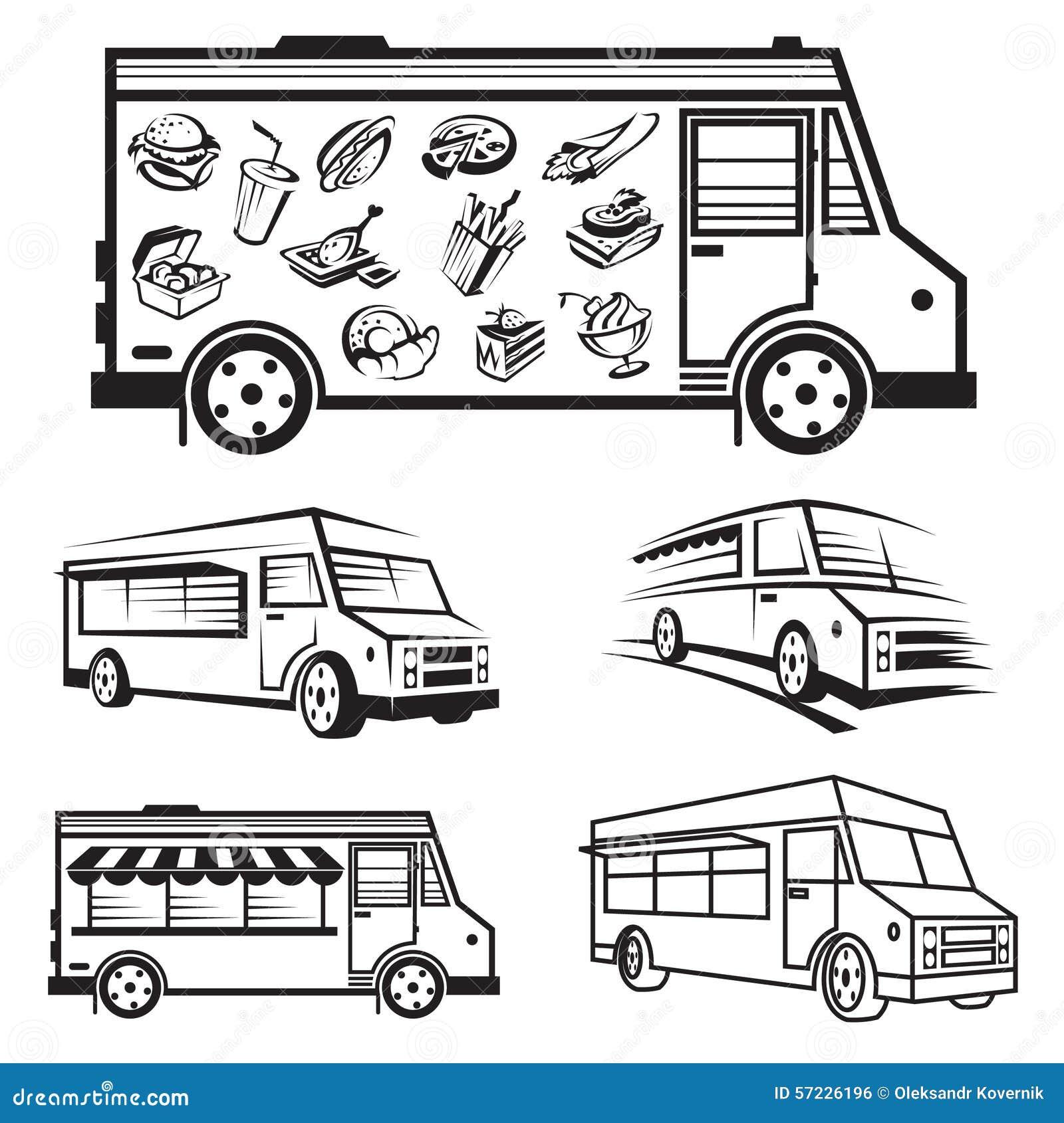 Cartoons Food Truck Owners Wiring Diagram Master Blogs Icon Designs Cartoon Vector Cartoondealer Com Logo