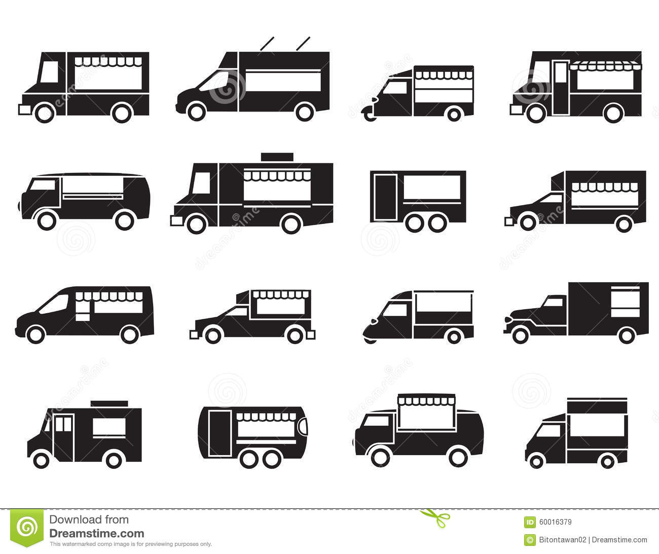Food truck stock illustrations 4047 food truck stock food truck icon set royalty free stock images pronofoot35fo Images