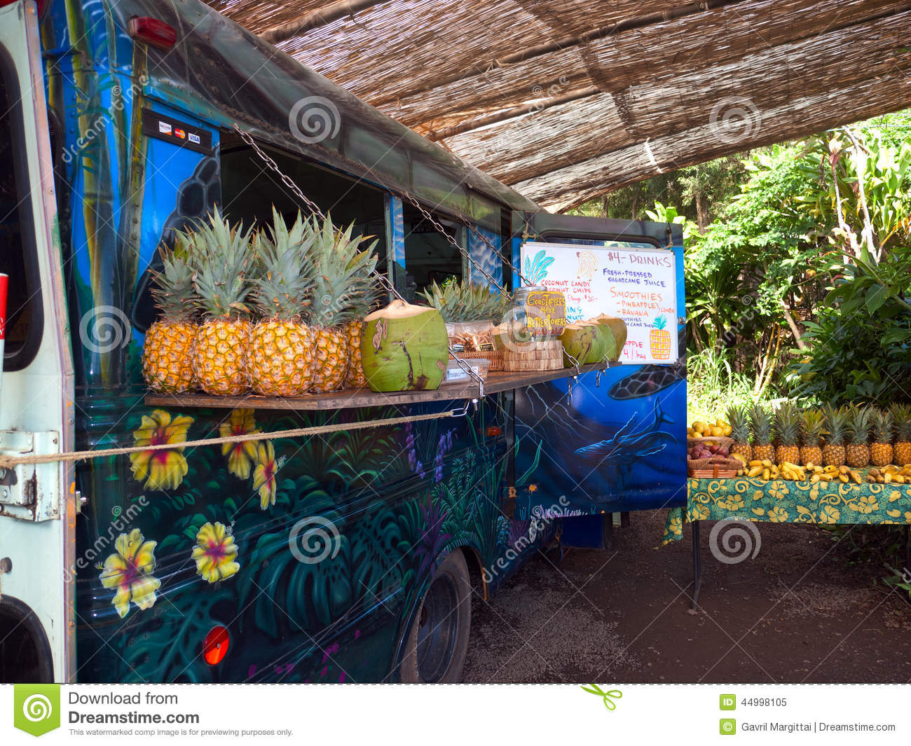 Food Truck Stock Images