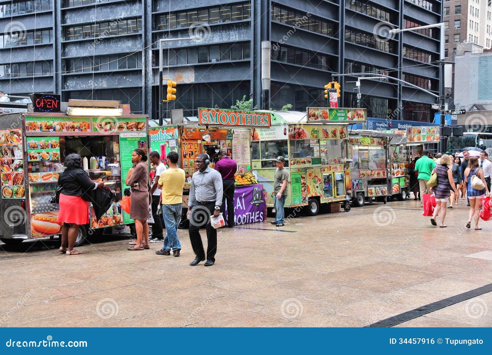 Food trucks, New York