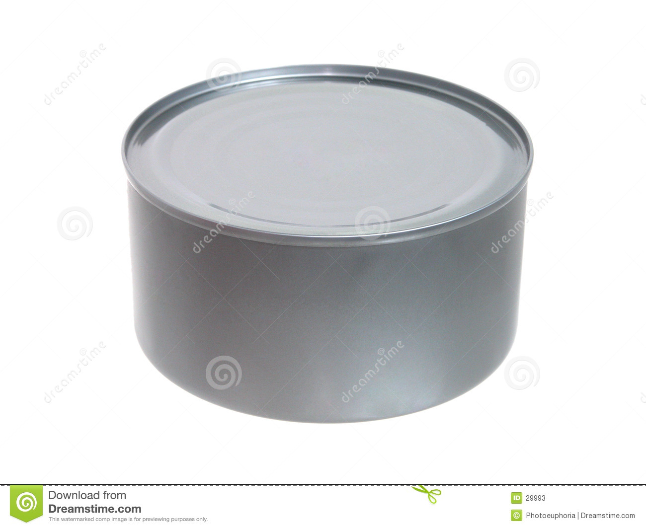 Food: Tuna in a Can Unopened