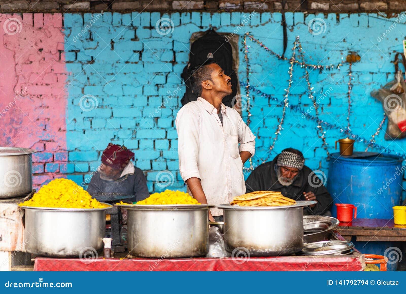 Food vendor New Delhi