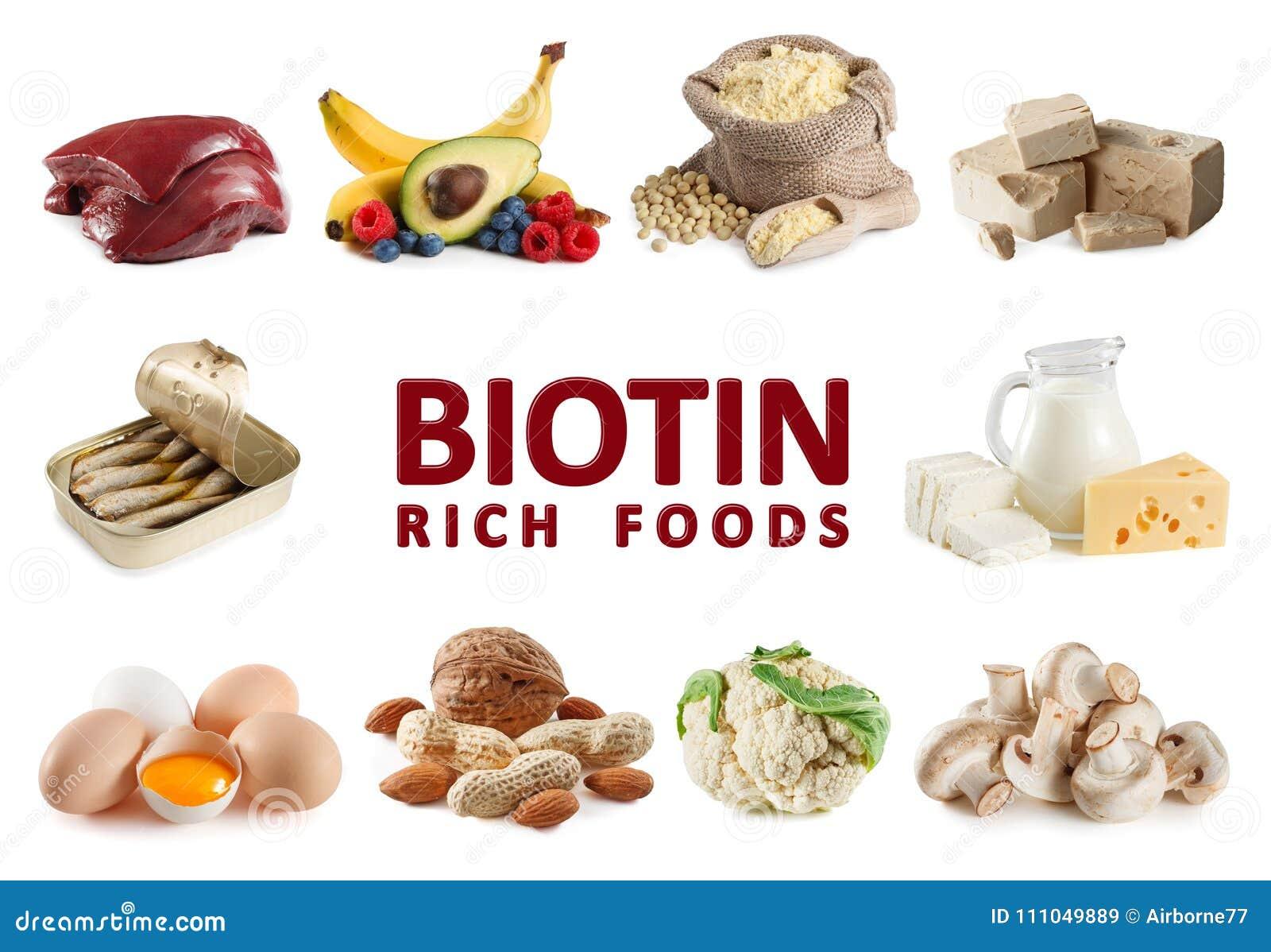 Foods bogaci w Biotin witaminie B7