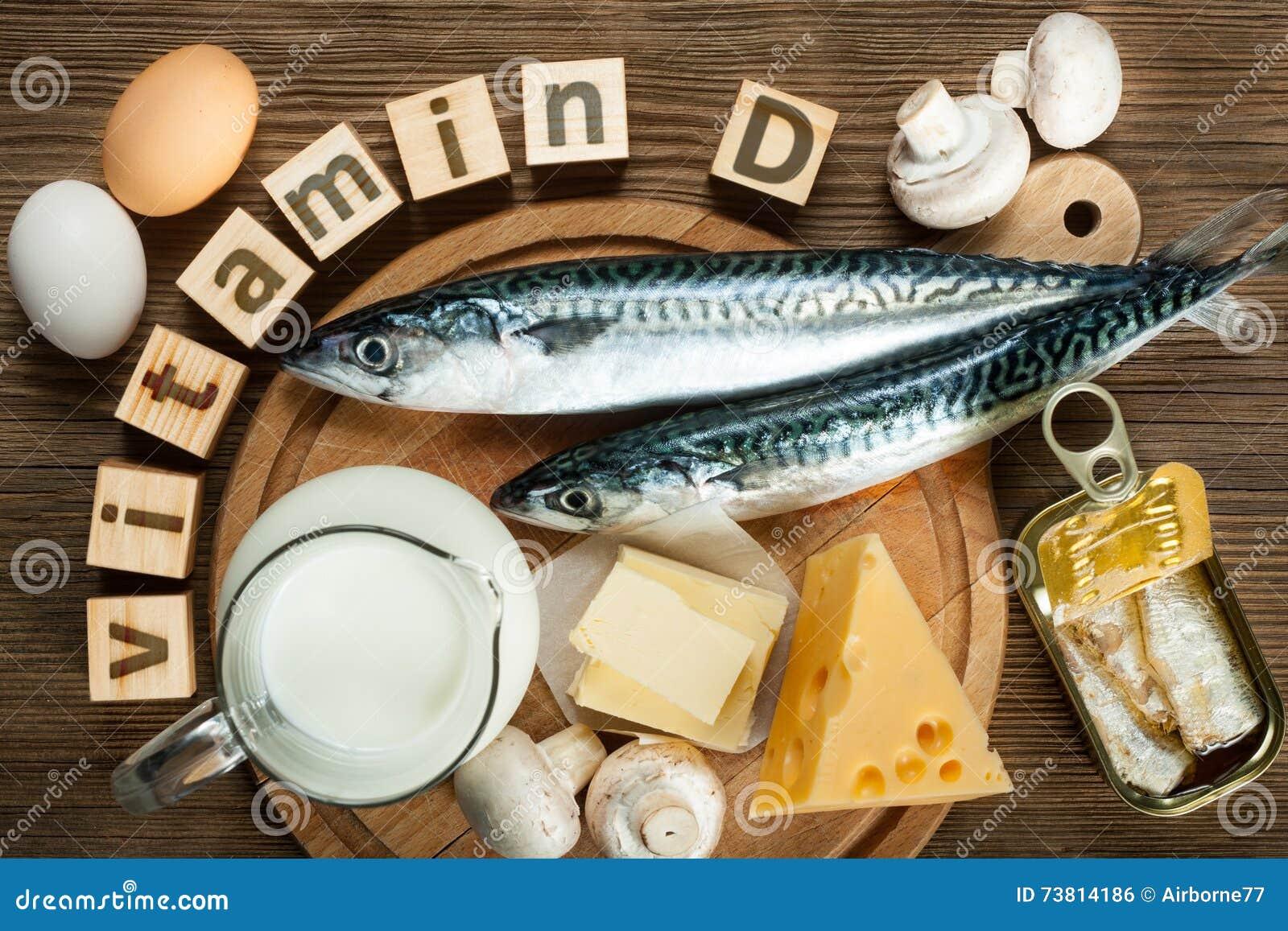 Foods bogaci w witamina d