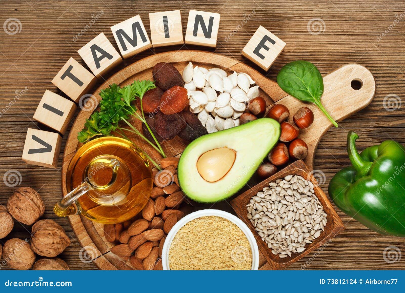 Foods bogaci w witaminie E