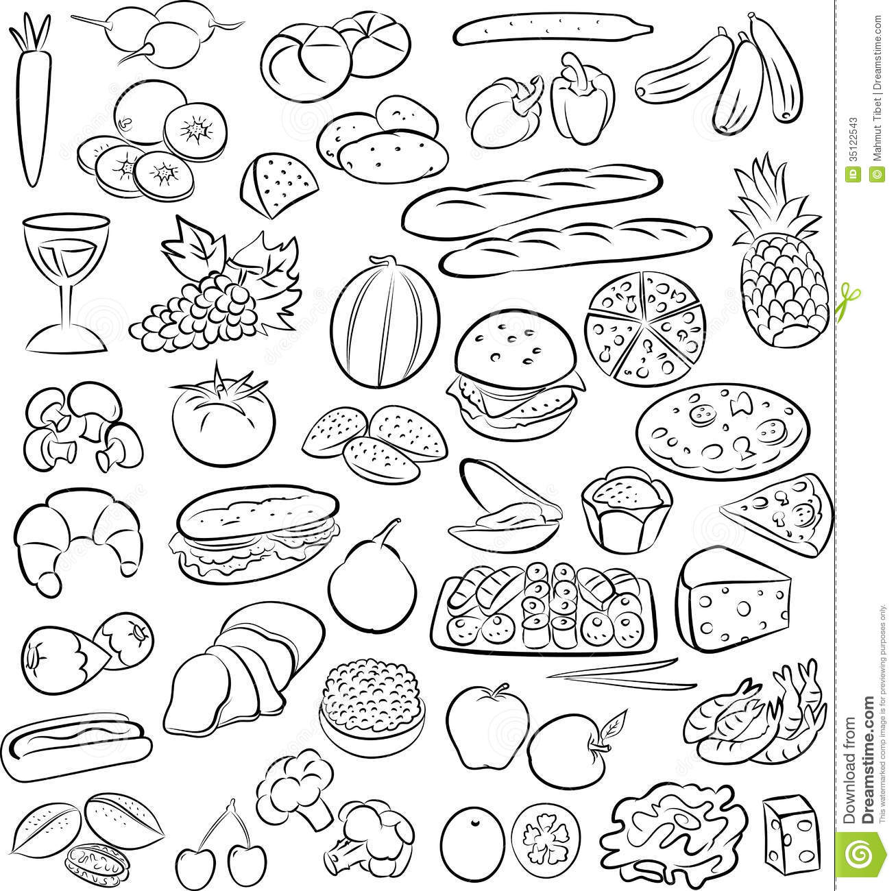 Vector illustra... Green Ham Clipart