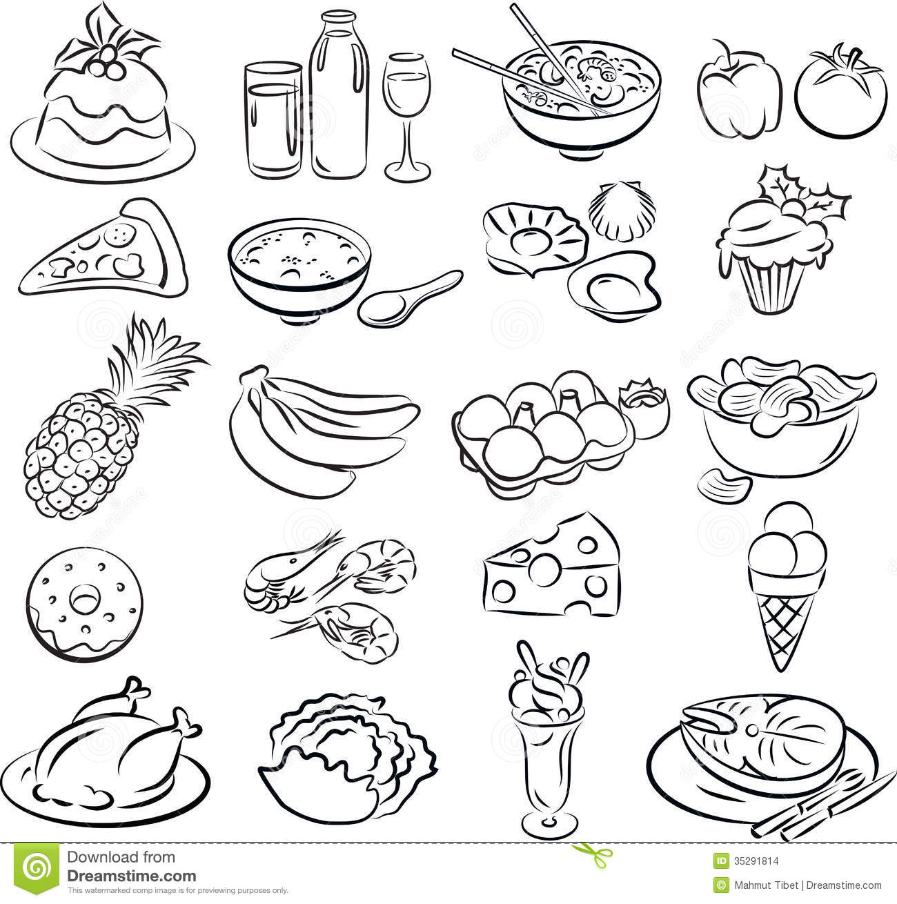 Foods Stock Images - Image: 35291814