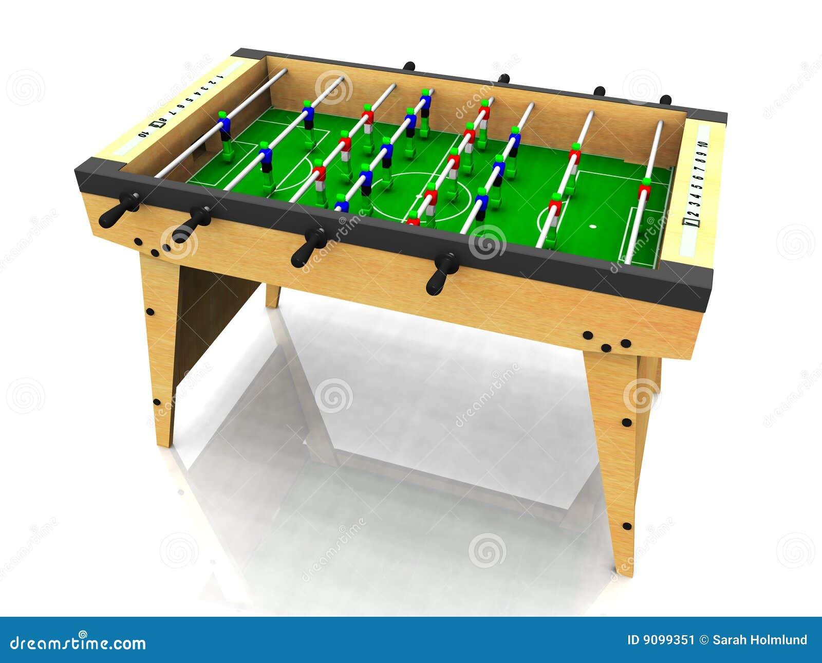 foosball table stock image
