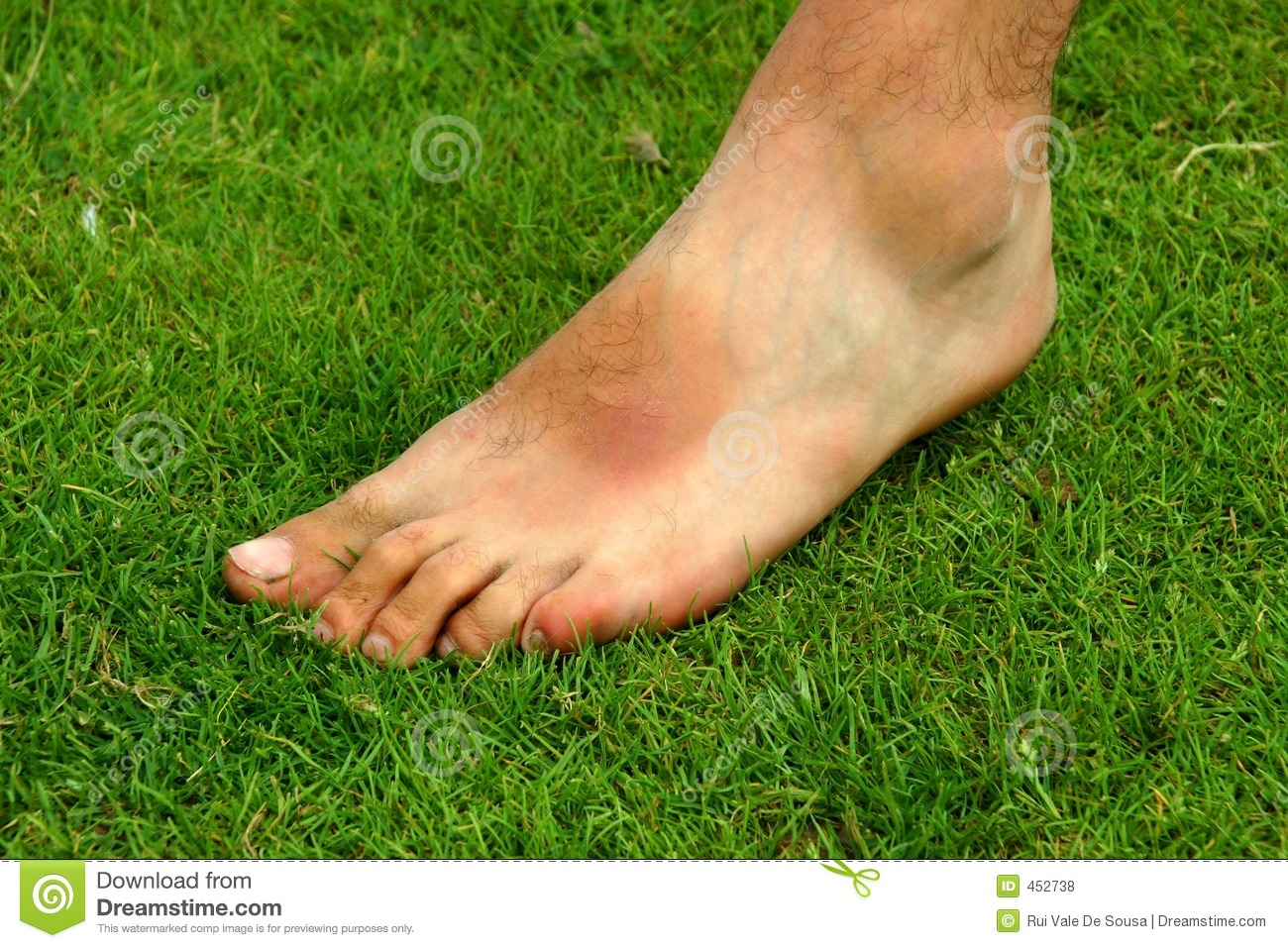 Download Foot stock photo. Image of alone, foot, male, skin, body - 452738