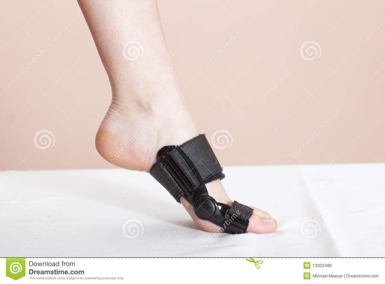 Foot Injury (toe) Royalty Free Stock Photos - Image: 13303488