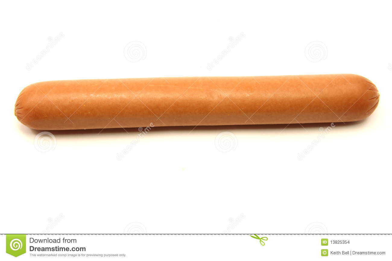 Stock Images Foot Long Hot Dog Image13825354 on weiner dog in a bun