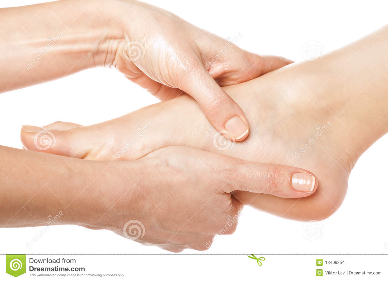 Foot massage stock photo image of relaxation skincare for 33 fingers salon