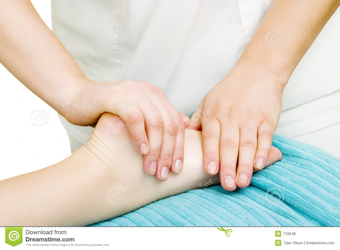 Foot Massage Royalty Free Stock Image - Image: 710546