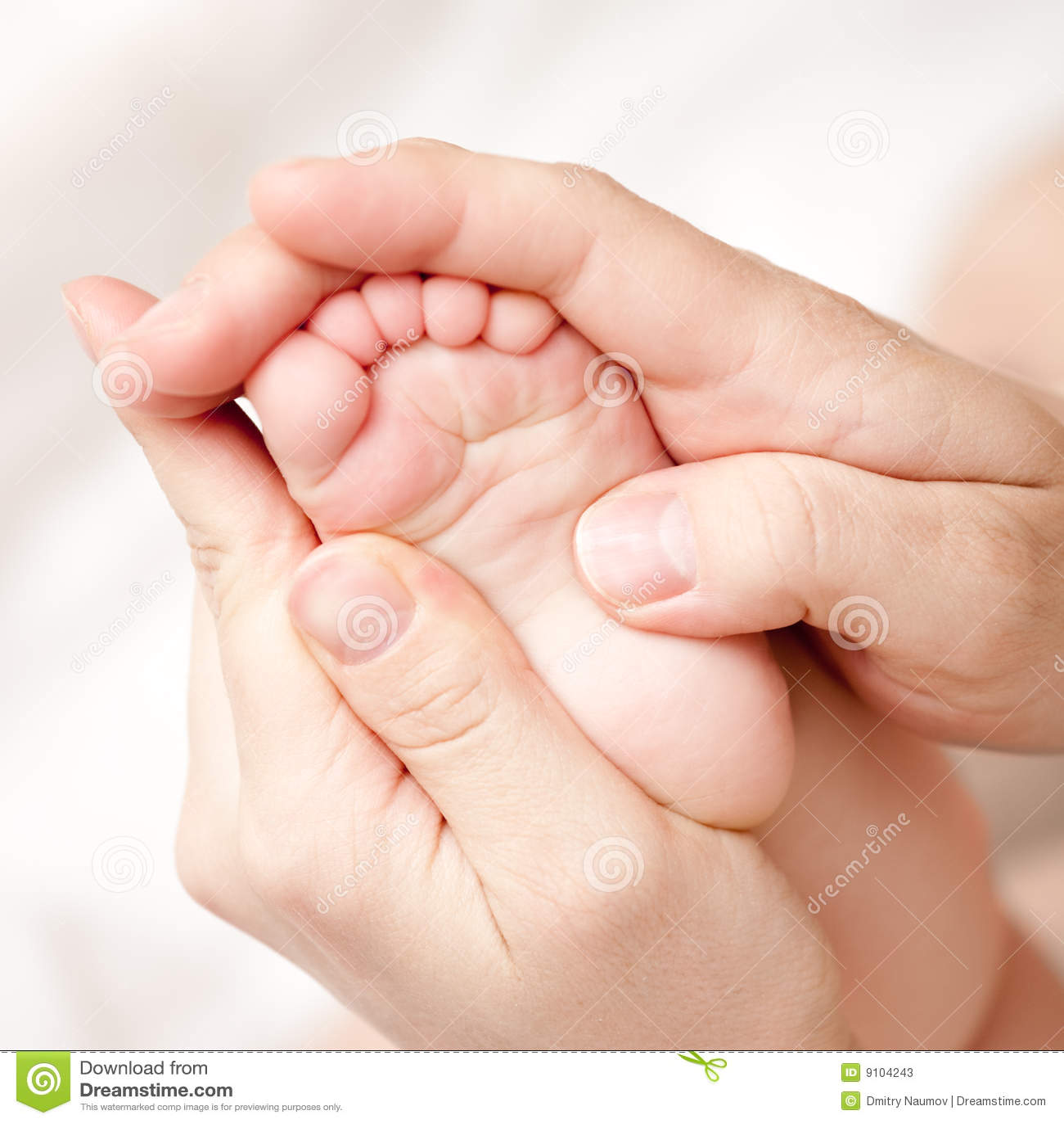 Foot massage stock image. Image of doctor, masseur