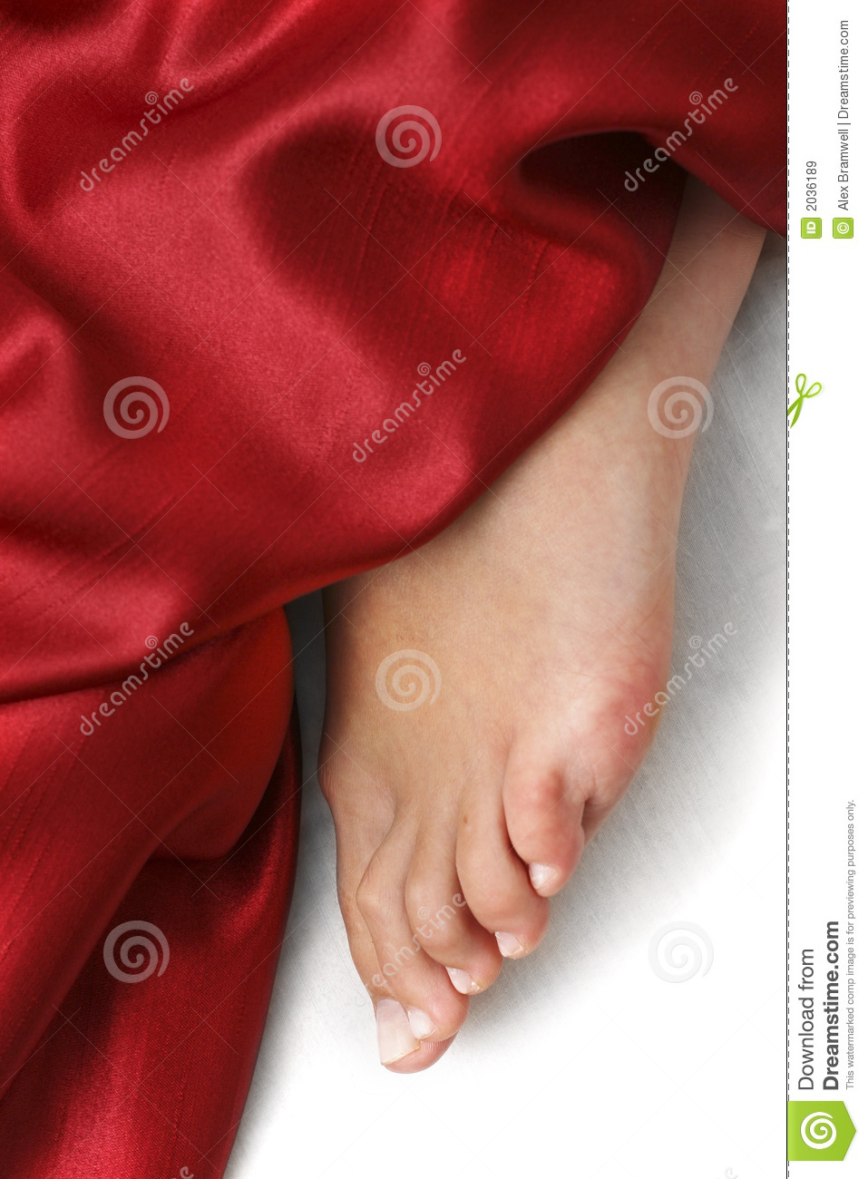 Woman Wrapped In Red Cloth 2 Stock Photo - Getty Images