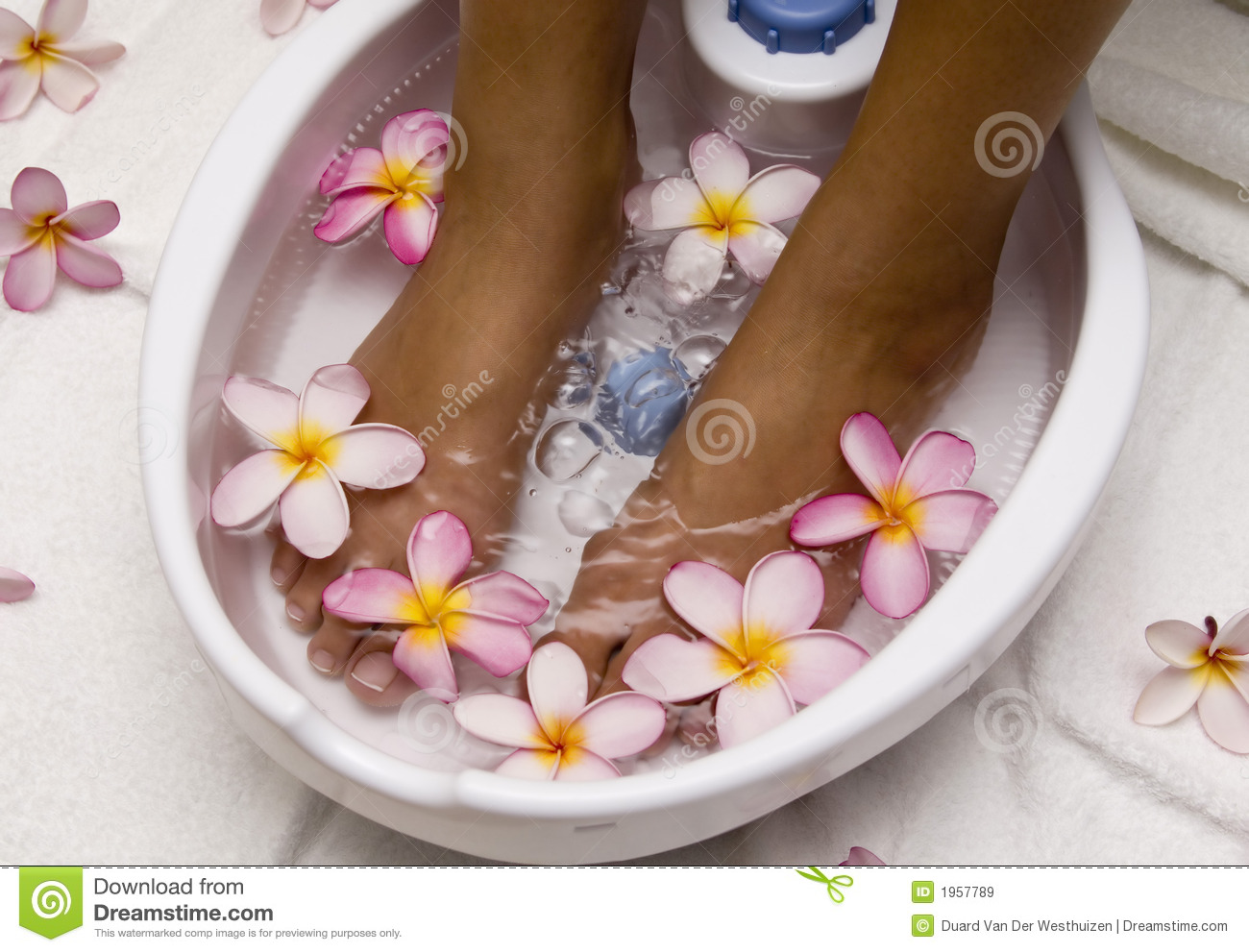 Foot Spa Stock Image Image Of Relax Water Massage Tips