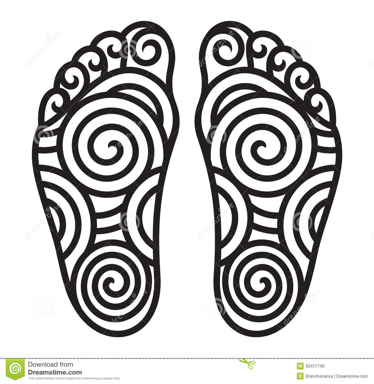 Feet symbol stock vector illustration of color graphic 29690251 foot symbol stock photo biocorpaavc Gallery