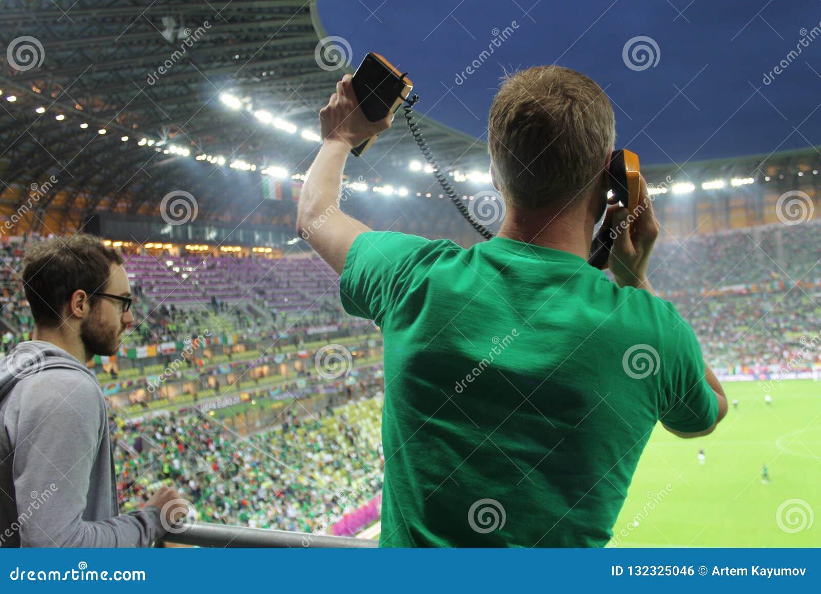Footbal fan 2012 euro Irlandia