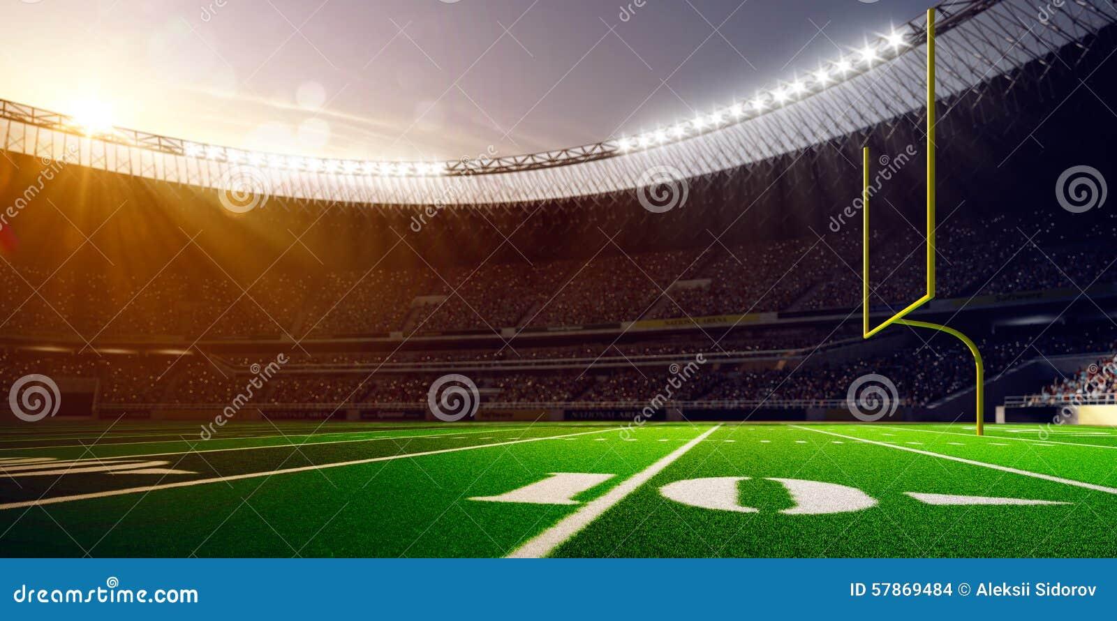 Football Arena Stadium Day